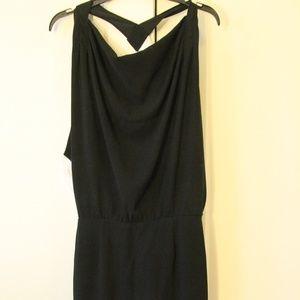 Elegant Women Sleeveless Black Dress
